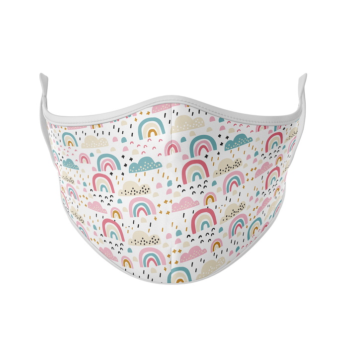 Rainbows & Clouds Reusable Face Mask - Protect Styles