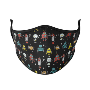 Robots Reusable Face Mask - Protect Styles