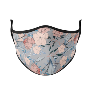 Simple Flowers Reusable Face Masks - Protect Styles