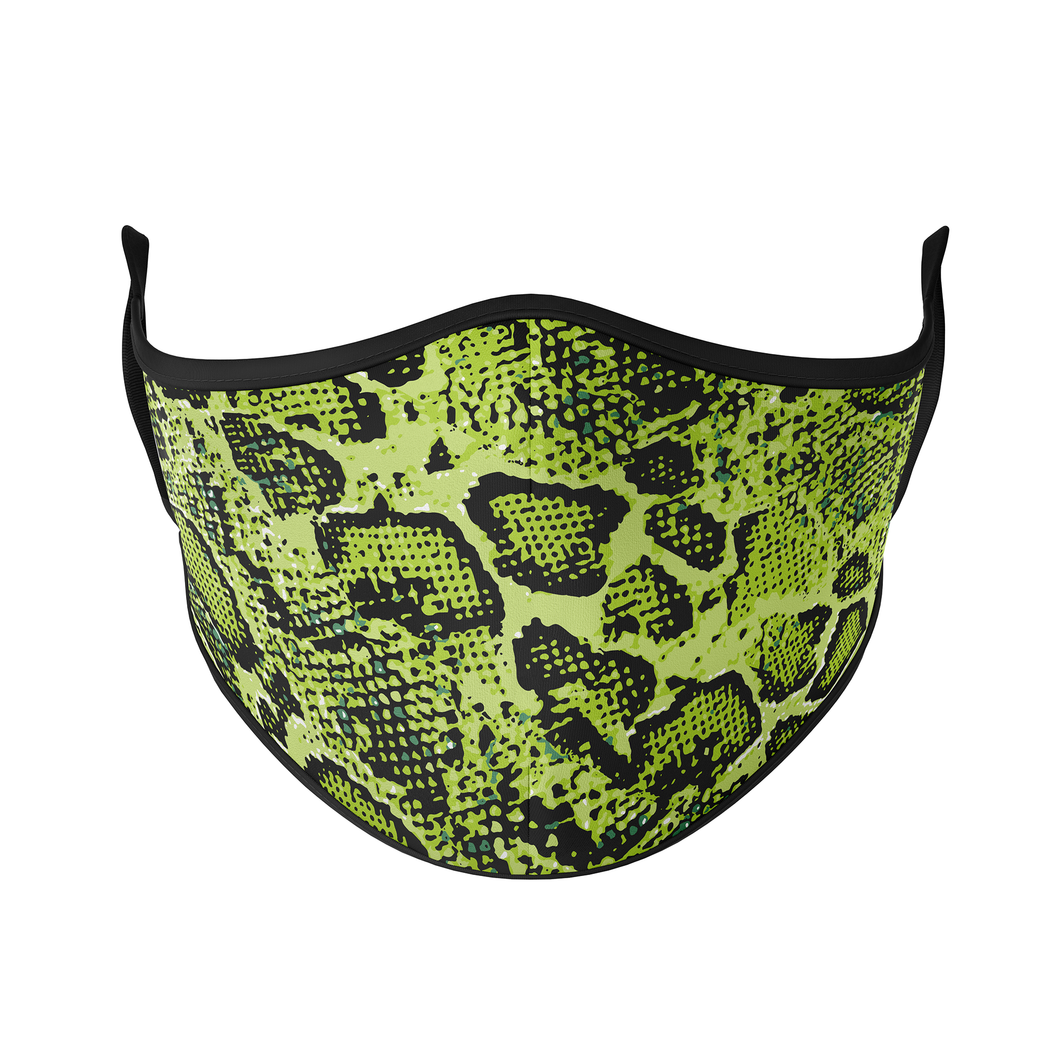 Snake Print Reusable Face Masks - Protect Styles
