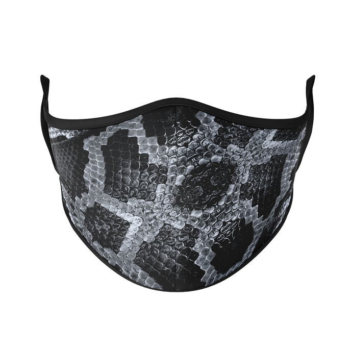 Snake Skin Reusable Face Masks - Protect Styles