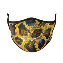 Load image into Gallery viewer, Snake Skin Reusable Face Masks - Protect Styles