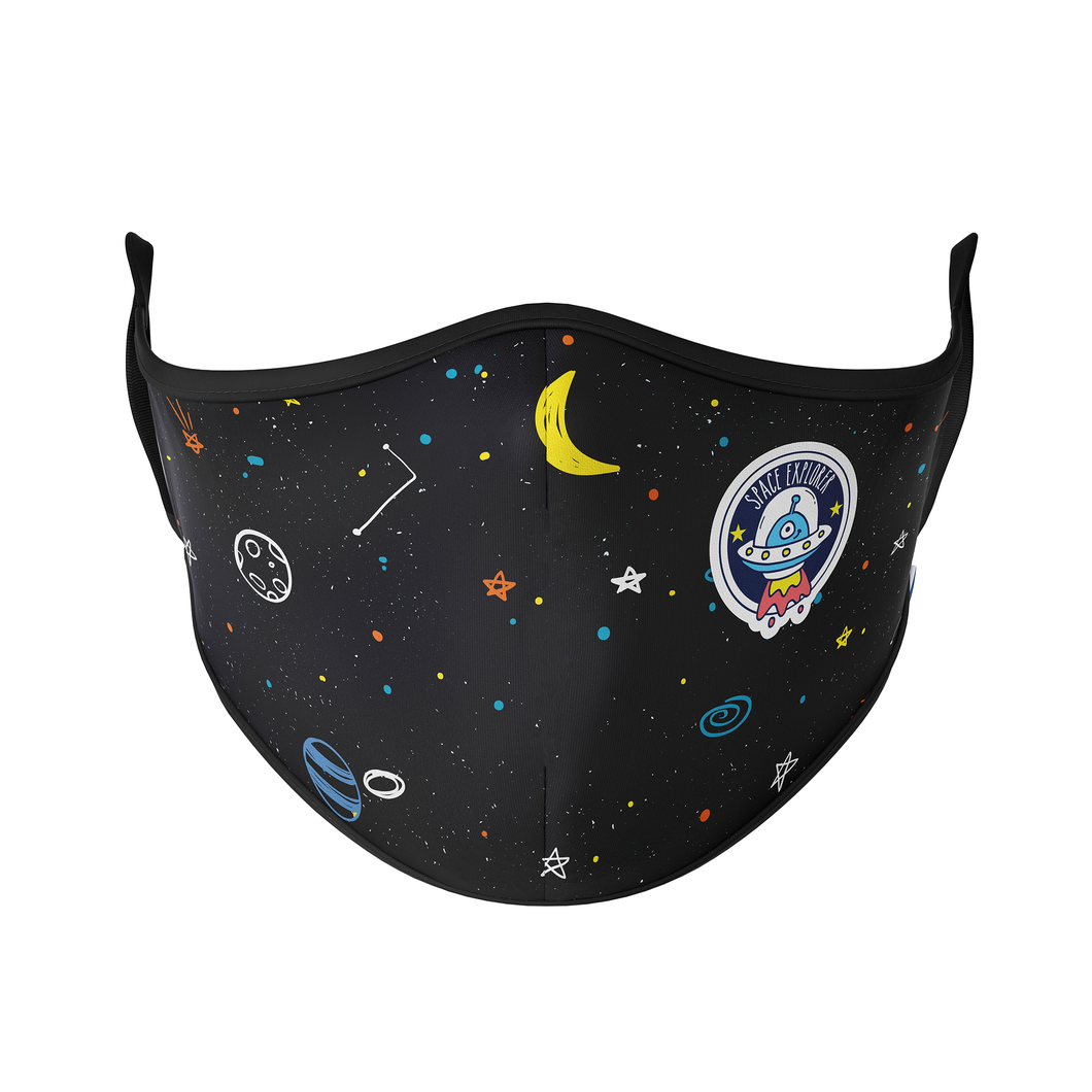 Space Explorer Reusable Face Masks - Protect Styles
