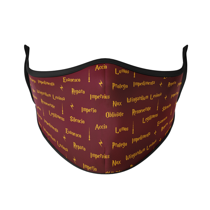 Spellbook Reusable Face Mask - Protect Styles