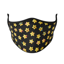Load image into Gallery viewer, Star Emoji Reusable Face Masks - Protect Styles