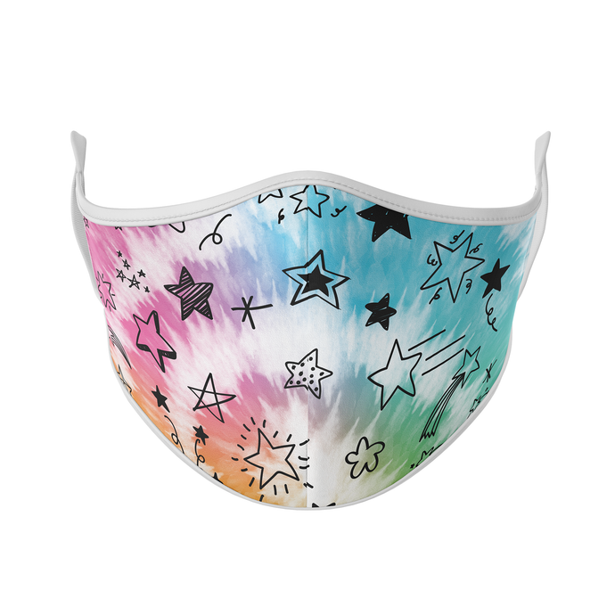 Star Tie Dye Reusable Face Masks - Protect Styles
