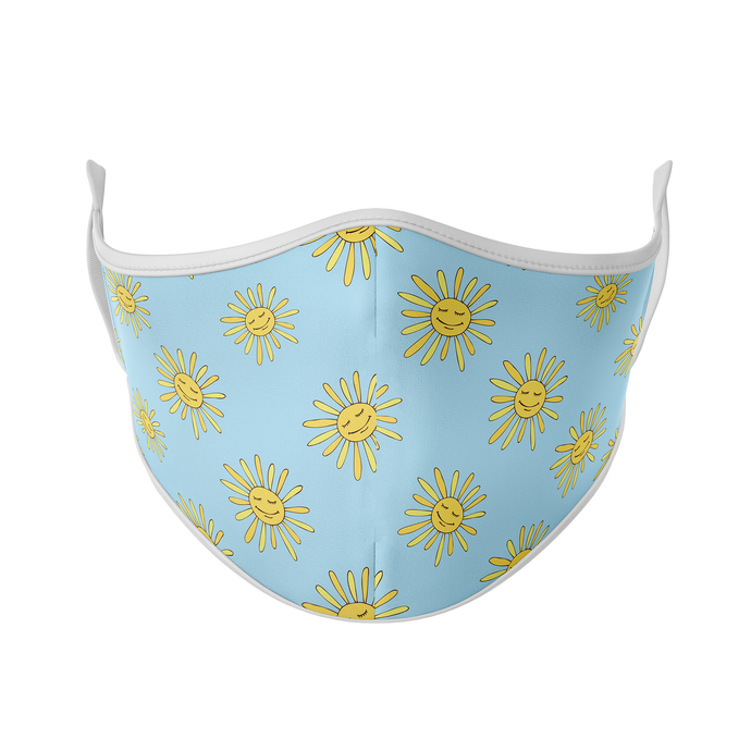 Sun Daisy Reusable Face Mask - Protect Styles
