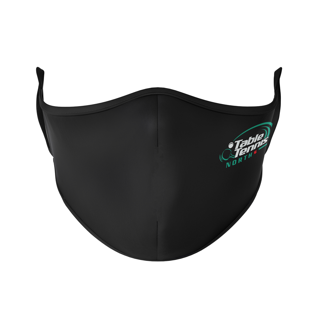 Table Tennis North Reusable Face Masks - Protect Styles