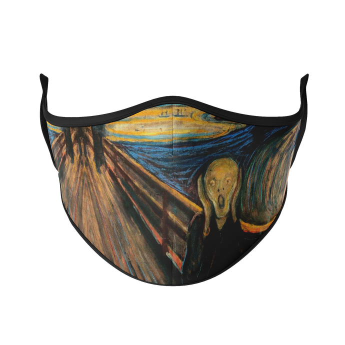 The Scream Reusable Face Masks - Protect Styles
