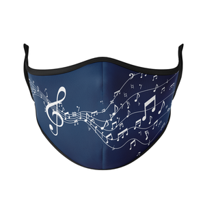 Treble Clef Reusable Face Masks - Protect Styles