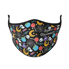 Load image into Gallery viewer, Trick or Treat Reusable Face Mask - Protect Styles