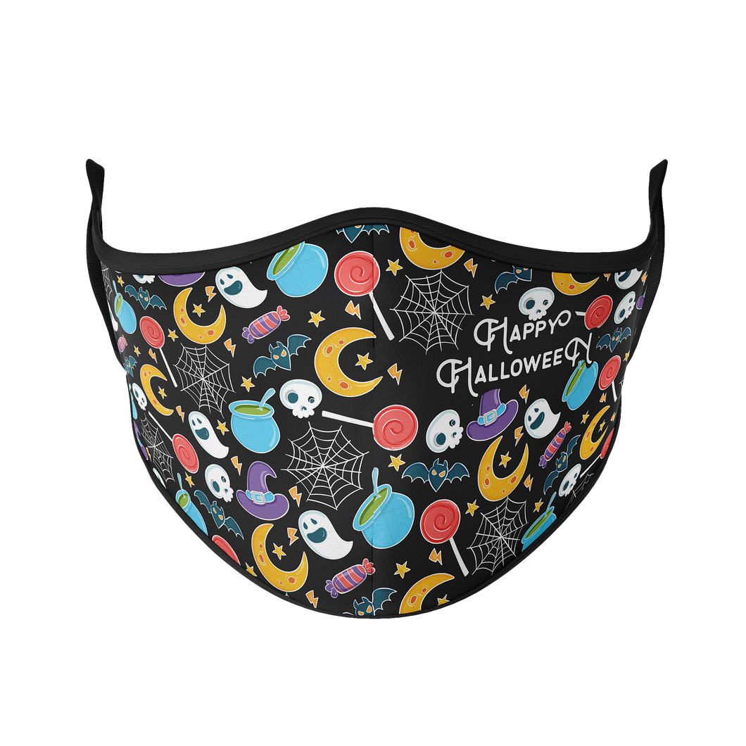 Trick or Treat Reusable Face Mask - Protect Styles