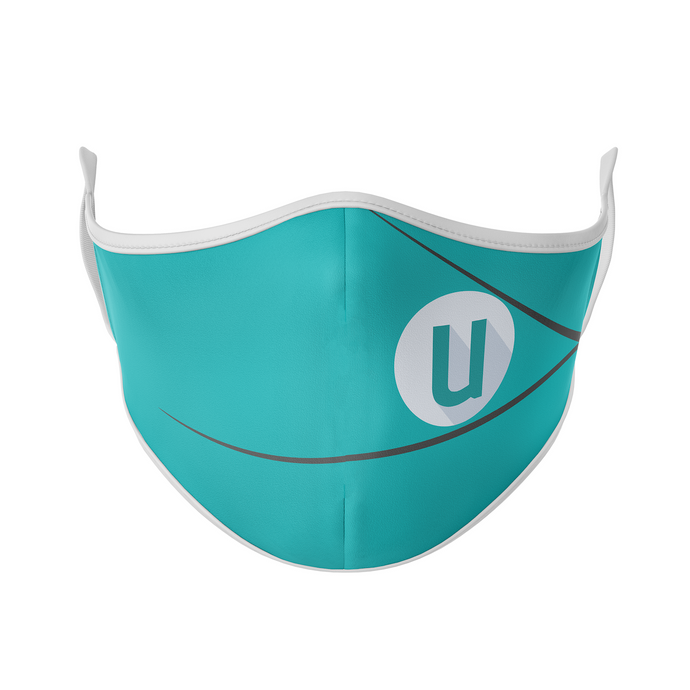 Univeris Turquoise Reusable Face Mask - Protect Styles