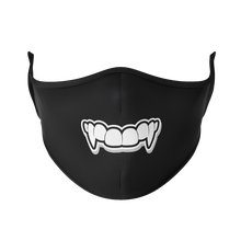 Load image into Gallery viewer, Vampire Teeth Reusable Face Mask - Protect Styles