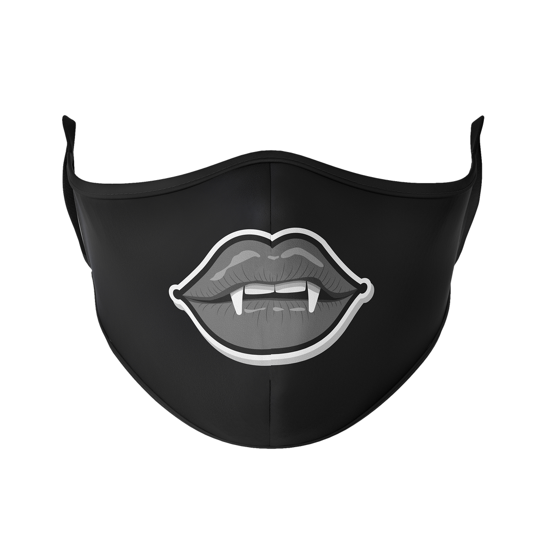 Vampire Teeth Reusable Face Mask - Protect Styles