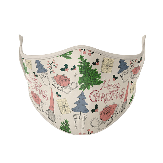 Vintage Christmas Reusable Face Masks - Protect Styles