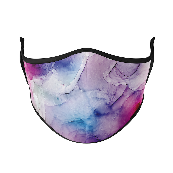 Watercolours Reusable Face Masks - Protect Styles