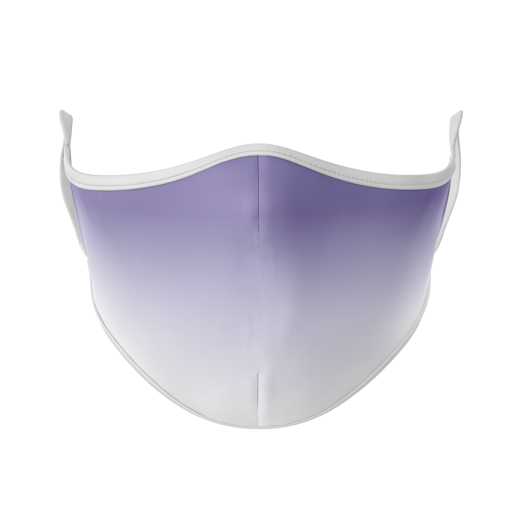White Ombre Reusable Face Masks - Protect Styles