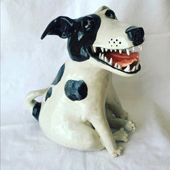Karen Kennedy Ceramic Dog