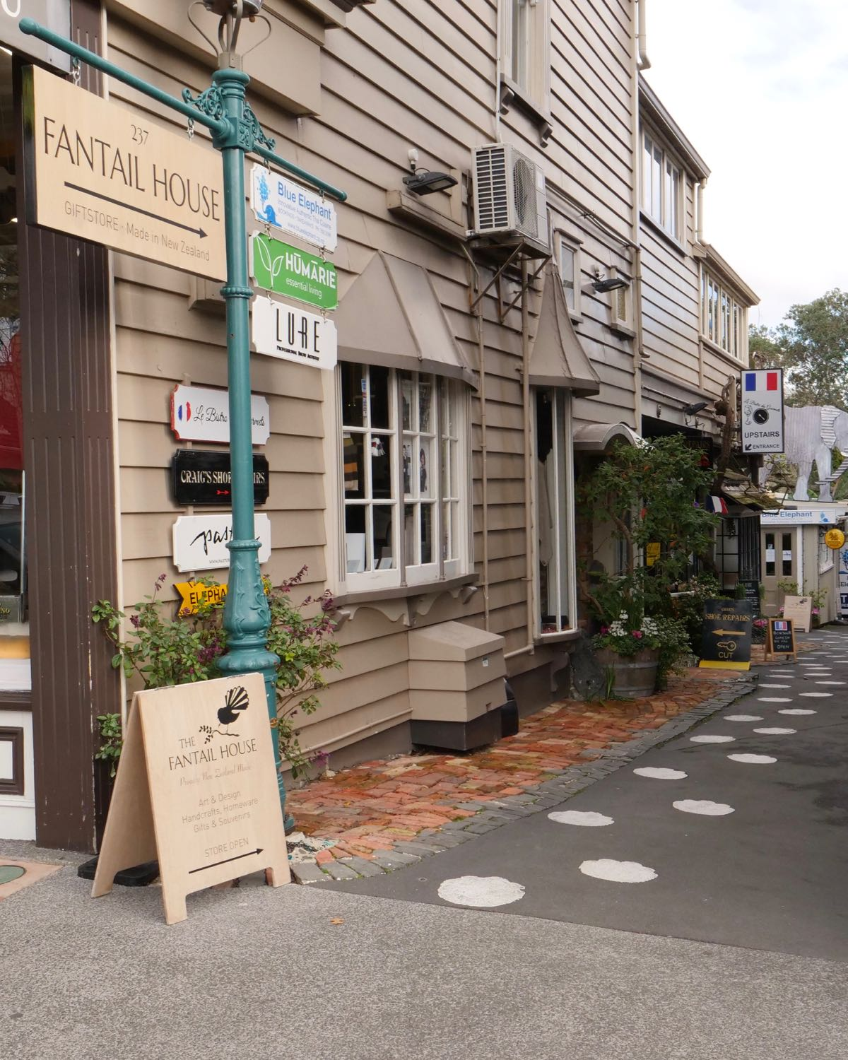 The Fantail House, NZ Made, Gift Shop, Parnell, Auckland