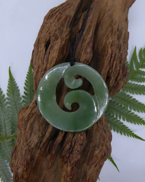 The Fantail House, Made in New Zealand, Greenstone, Pounamu, Circle of Life, Koru, Handcrafted