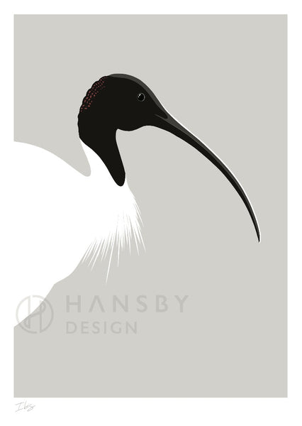 The Fantail House, Made in New Zealand, Cathy Hansby, Art Prints, Exotic Birds, Ibis