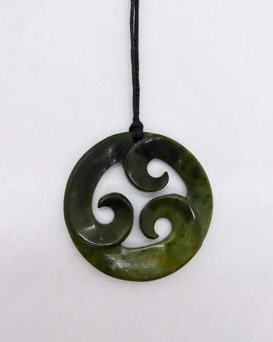 The Fantail House, NZ Made, Greenstone - Pounamu, Circle of Life, Koru, Handcrafted