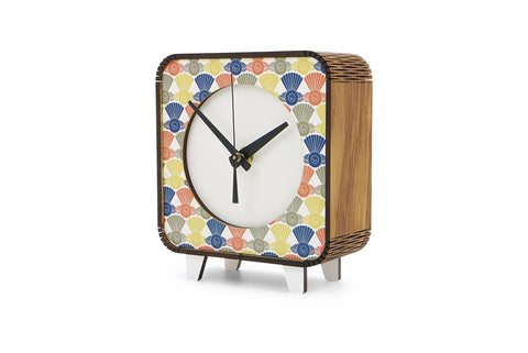 The Fantail House, NZ Made, Ian Blackwell, Retro Clock