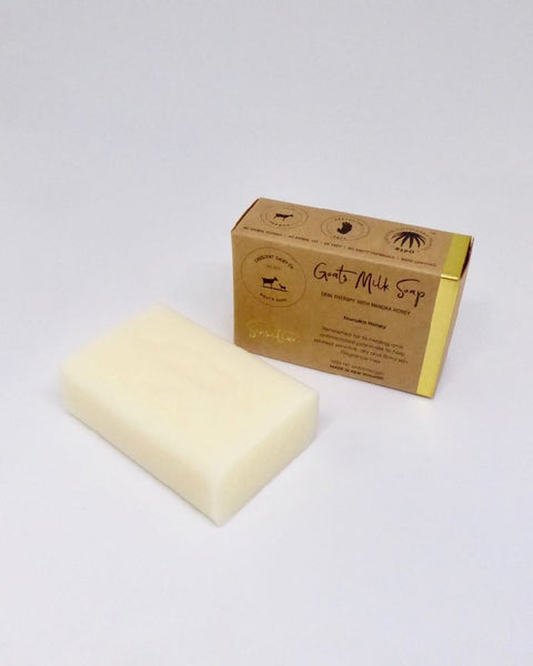The Fantail House, NZ Made, Goats Milk Soap, Manuka Honey, Cresent Dairy Co., Manuka Honey Soap