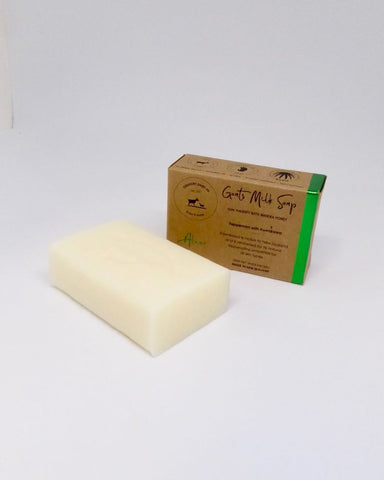 The Fantail House, NZ Made, Goats Milk Soap, Manuka Honey, Cresent Dairy Co., Peppermint with Kawakawa Soap