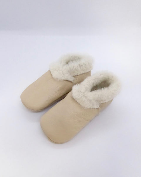 The Fantail House, Made in NZ, Lambskin Booties, 1 year