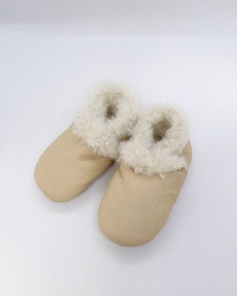 The Fantail House, Made in NZ, Lambskin Booties, 3-6 months