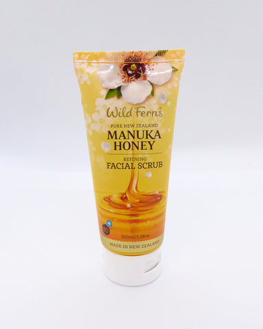 The Fantail House, Made in New Zealand, NZ Made, Wild Ferns, Manuka Honey Facial Scrub