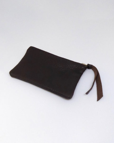 The Fantail House, NZ Made, Deerskin Purses, Eve Wallace, Four Peaks, Brown