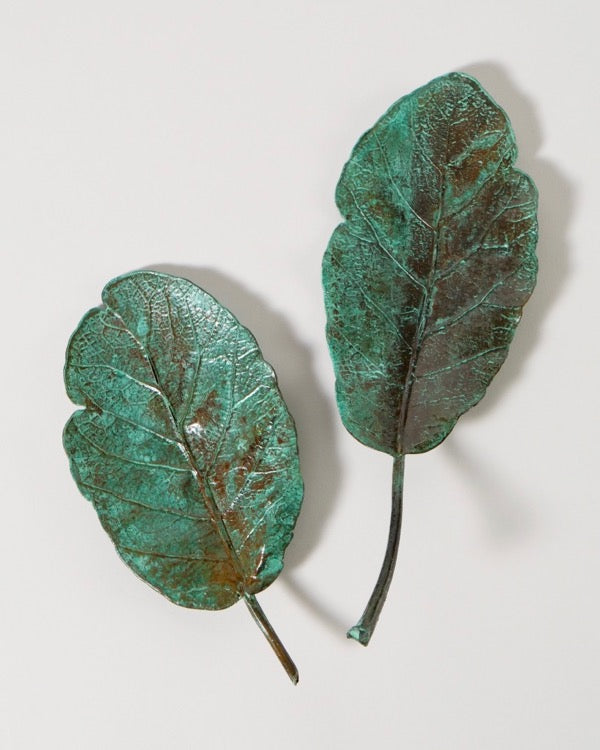 The Fantail House, Made in New Zealand, Copper leaves, Puka Leaf