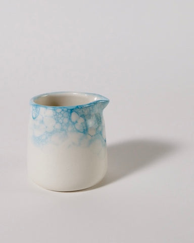 Ceramic Pouring Jug - Bubble Glaze