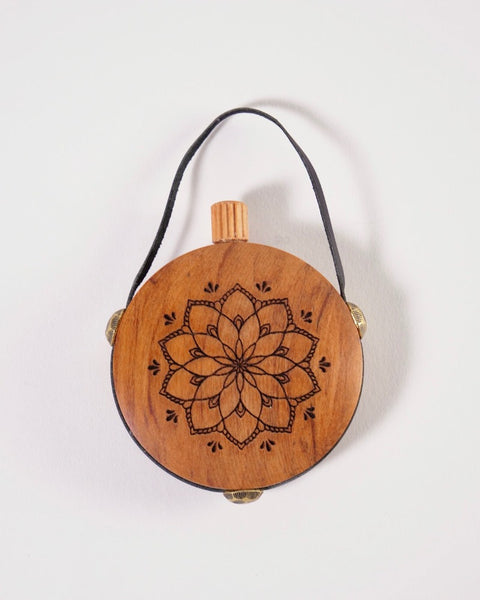 The Fantail House, Made in New Zealand, Rimu, Aroma Flask, Essential Oils, Mandala flower