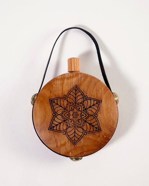The Fantail House, Made in New Zealand, Rimu, Aroma Flask, Essential Oils, Mandala Lotus