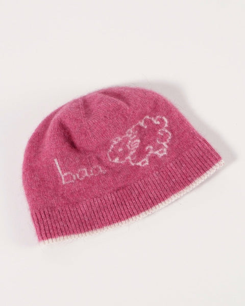 Fantail House, Made in NZ, Baa Beanie, Children, Babies, Pink