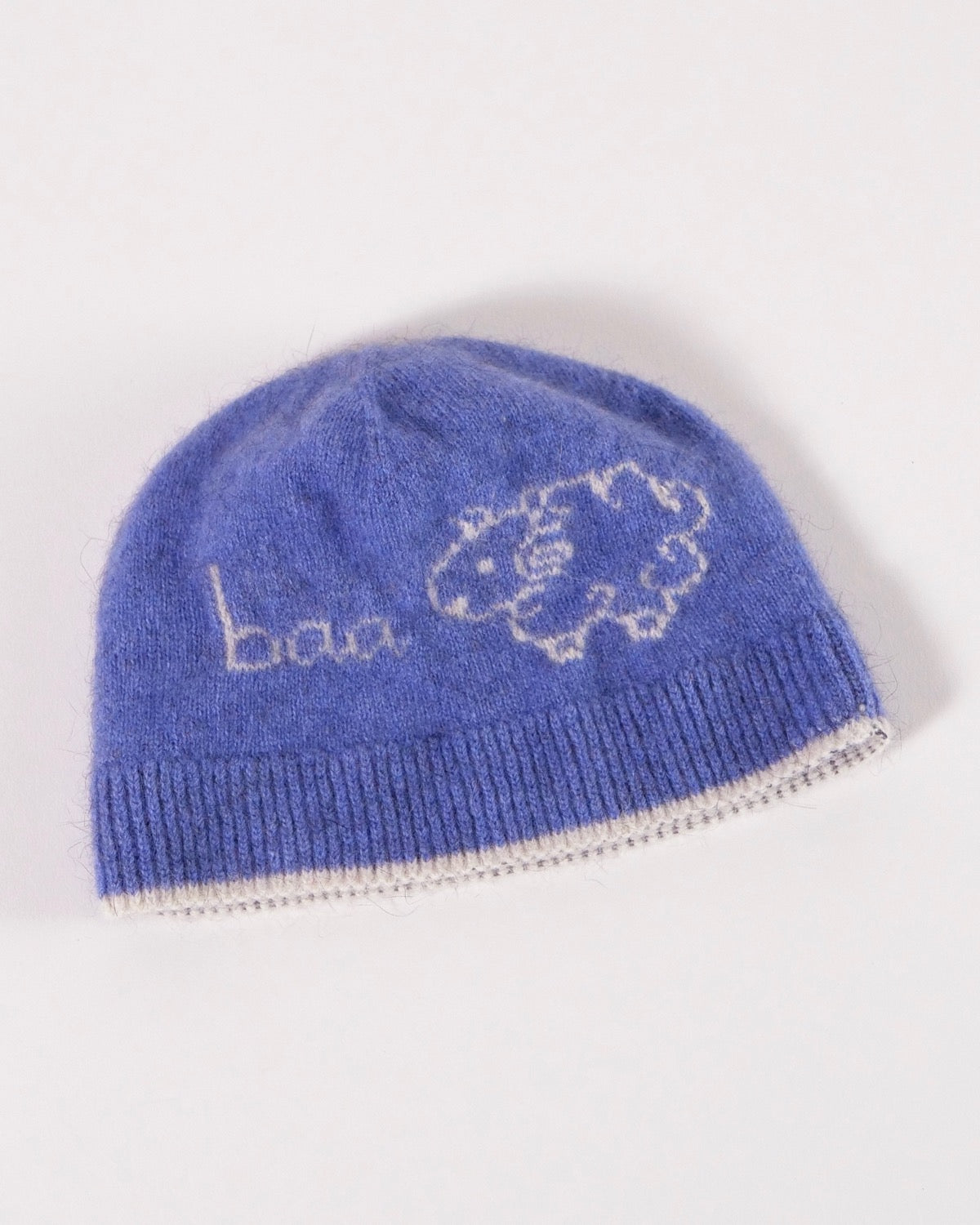 Fantail House, Made in NZ, Baa Beanie, Children, Babies, Blue