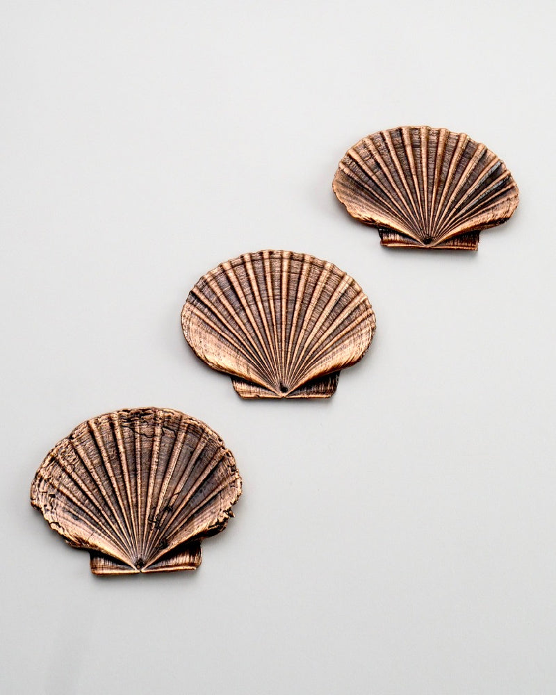 The Fantail House, Made in NZ, Copper Scallop Shell