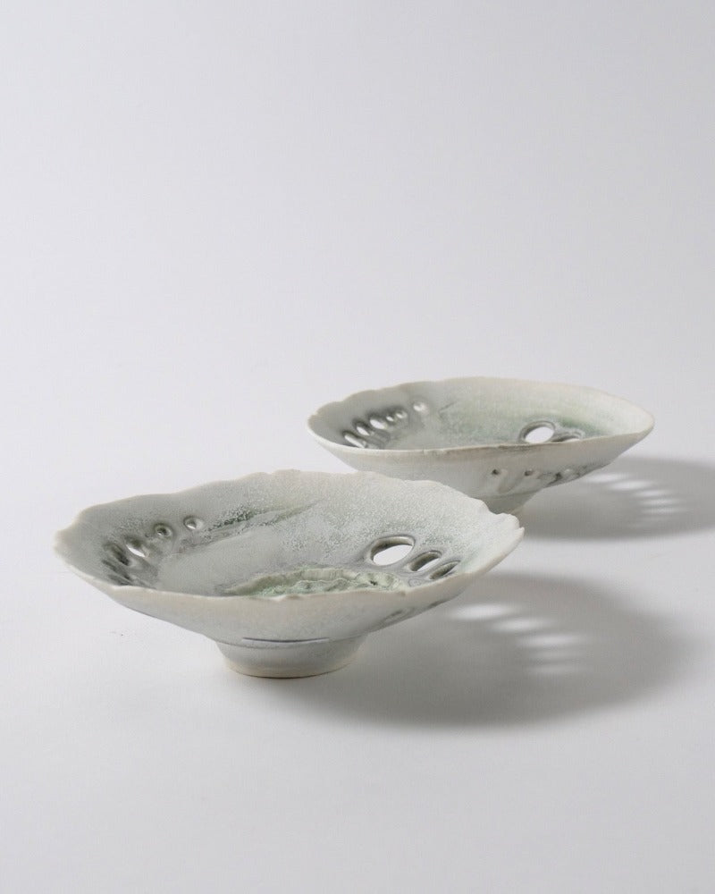 The Fantail House, Made in New Zealand, Porcelain Bowl, Jan Cockell
