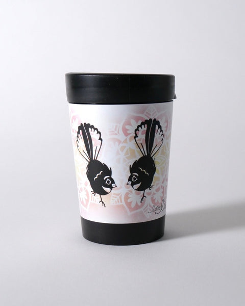The Fantail House, NZ Made, Cuppacoffeecup, Takeout Cup, Reusable Cup, Fantail