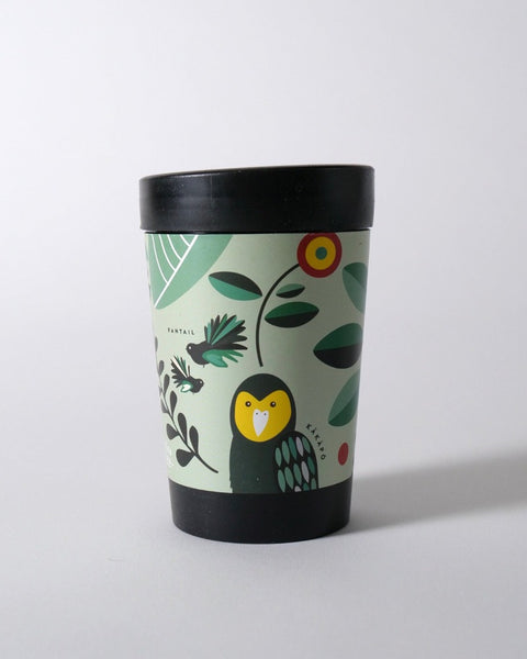 The Fantail House, NZ Made, Cuppacoffeecup, Takeout Cup, Reusable Cup, Manu Maori