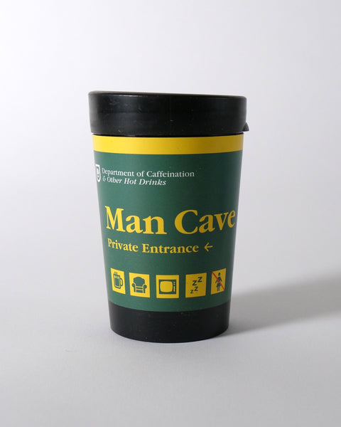 The Fantail House, NZ Made, Cuppa Coffee Cup, Reusable Cup, Takeaway Cup, Man Cave