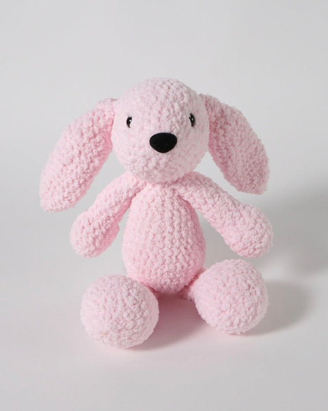 The Fantail House, Made in New Zealand, Soft Toys, Rabbit, Crocheted, Pink