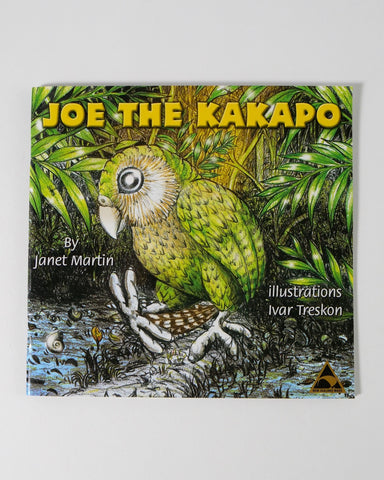 The Fantail House, Made in NZ, Joe the Kakapo, Janet Martin
