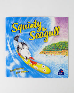 The Fantail House, Made in NZ, Squinty the Seagull, Janet Martin
