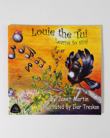 The Fantail House, Made in NZ, Louie the Tui, Janet Martin