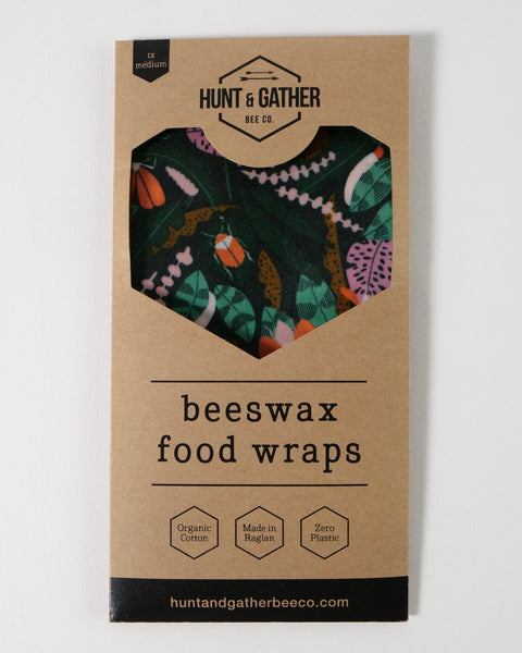 The Fantail House, Made in New Zealand, Beeswax Wrap, Medium